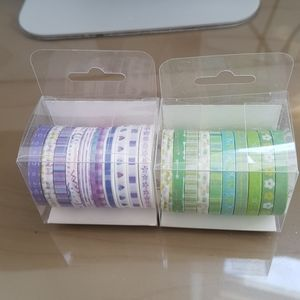 Small Washi Tapes (Pack of 20)